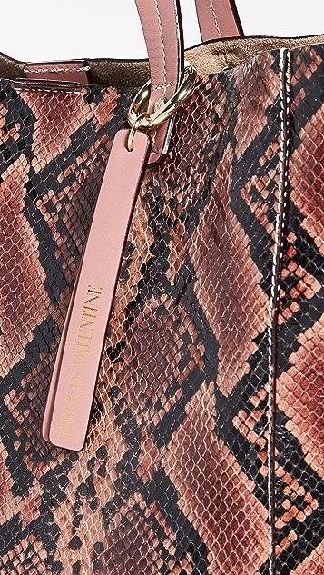 Frances Valentine Объемная сумка с короткими ручками Margaret