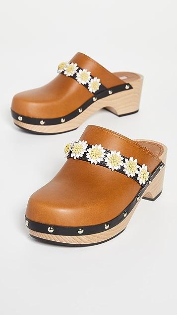 Fabrizio Viti Jean Daisy 木底鞋