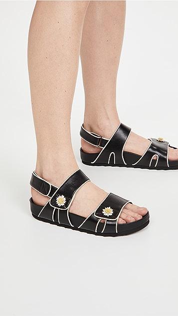 Fabrizio Viti Double Daisy Berkley Sandals
