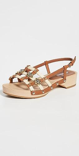 Fabrizio Viti - Sofia 软木凉鞋
