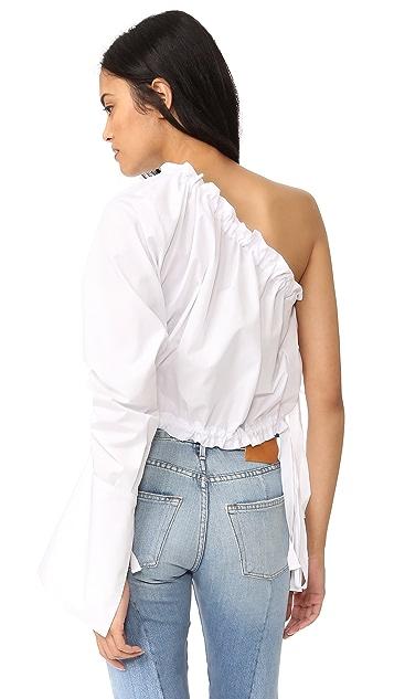 Georgia Alice Crescent One Shoulder Shirt