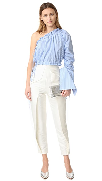 Georgia Alice Crescent One Shoulder Shirt