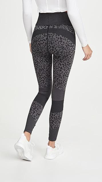 Good American Active Leopard Seamless Leggings