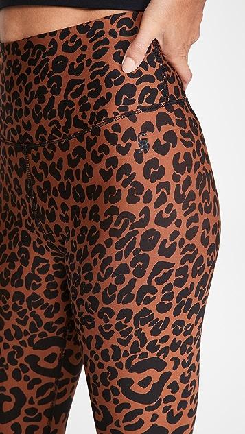 Good American Active Sheen Print Leggings