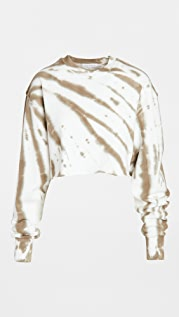 Good American Essentials Cropped and Cool Sweatshirt