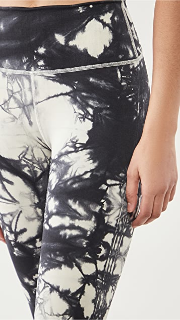Good American Essentials Tie Dye Seamless Leggings