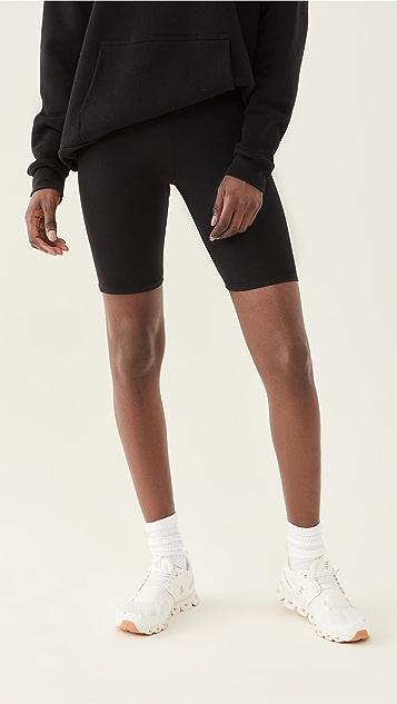 Good American Essentials Lounge Bike Shorts