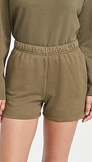 Good American Essentials Oversize Shorts