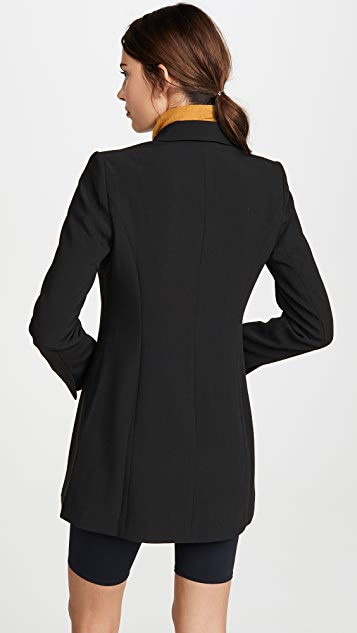 Good American Long Blazer Dress