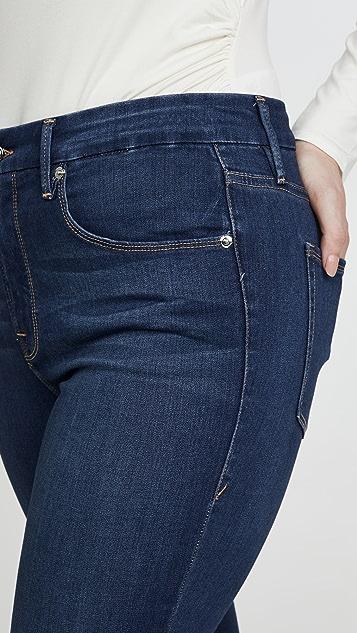 Good American Укороченные джинсы Good Waist