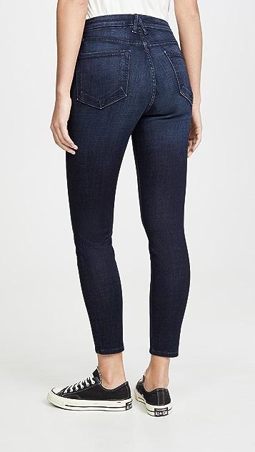 Good American Укороченные джинсы-скинни Good Waist