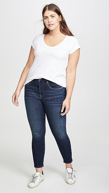 Good American Укороченные джинсы Good Legs