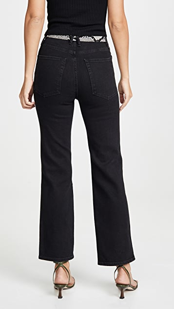 Good American Прямые джинсы Good Curve