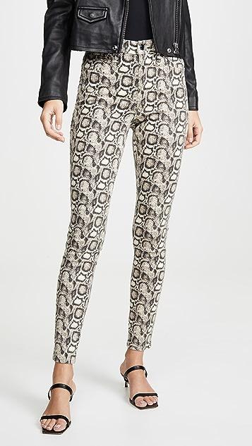 Good American Good Legs Snake Skinny Jeans