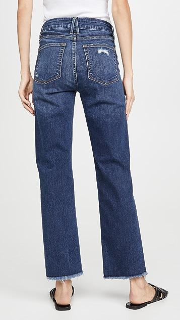 Good American Прямые джинсы Good