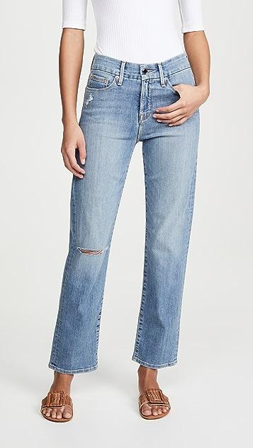 Good American Good Straight Jeans