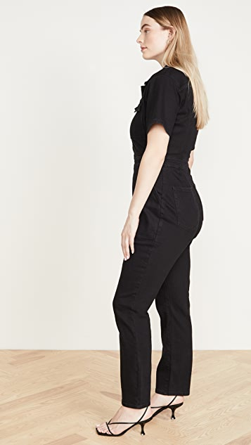 Good American Utility Jumpsuit