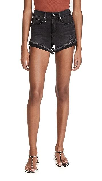 Good American Good Curve Shorts
