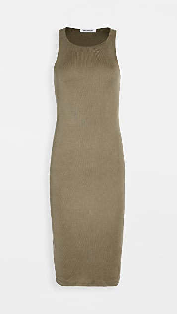 Good American Rib Knit Midi Dress
