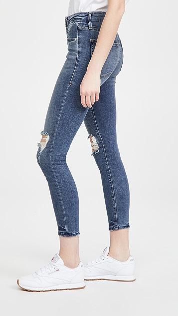 Good American Good Legs 中长牛仔裤