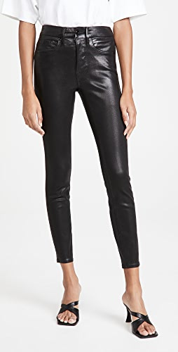 Good American - Good Legs Leather Like Coated Jeans