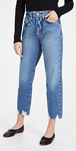 Good American - Good Chewed Hem Jeans