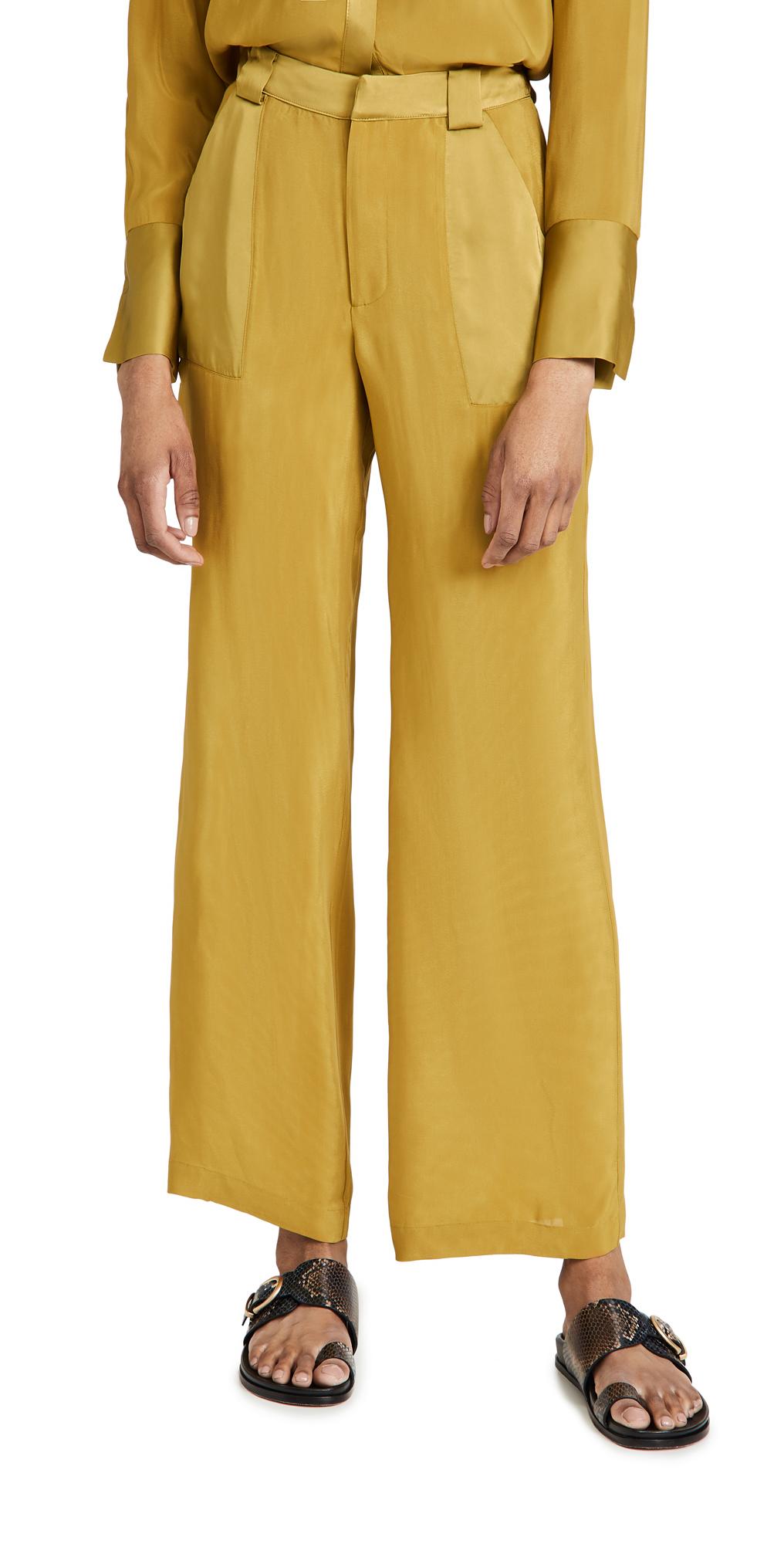 Good American Sheer Trousers