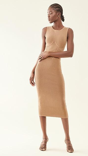 Good American Corset Waist Dress
