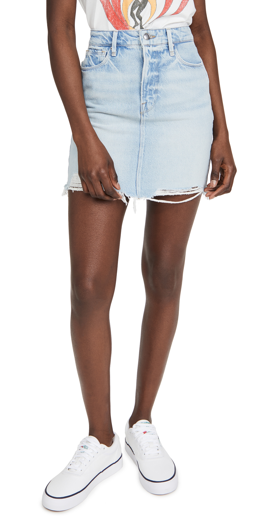 Good American Denim Miniskirt