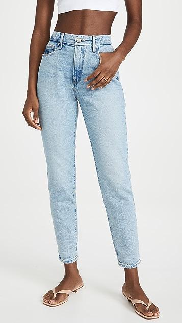 Good American Good Girl High Waisted Jeans