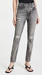 Good American Good Girlfriend High Rise Jeans