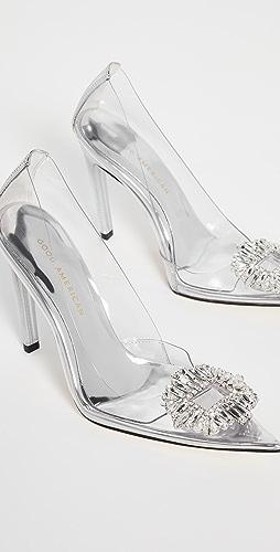 Good American - Cinderella Jeweled Pumps
