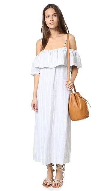 GANNI Reiko Linen Dress