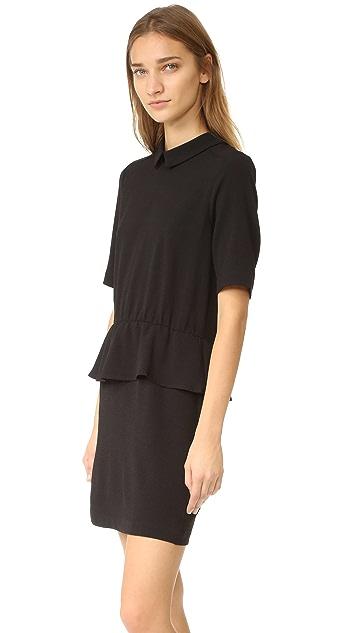 Ganni Clark Ruffle Dress