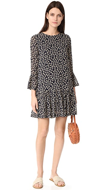 Ganni Newman Georgette Dress