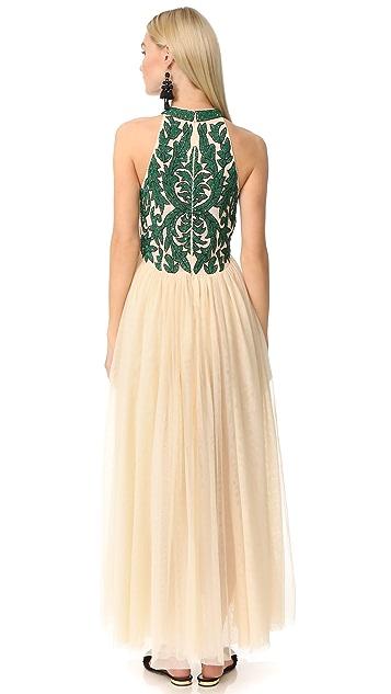 Ganni Вечернее платье Colby с блестками