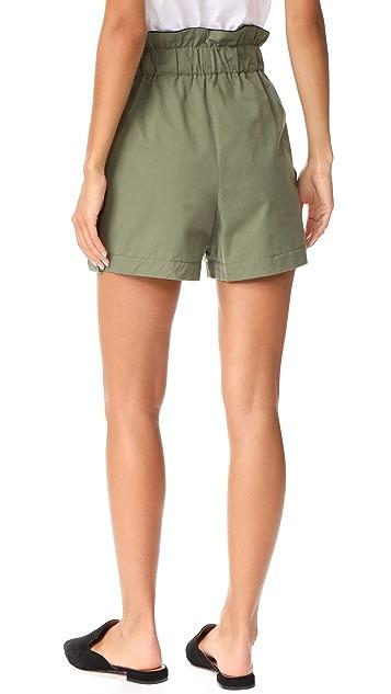 Ganni Fabre Shorts