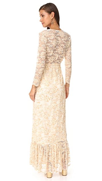 Ganni Flynn Lace Dress