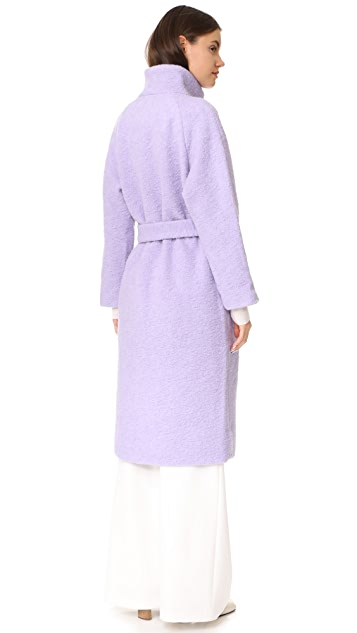 Ganni Fenn Wrap Coat
