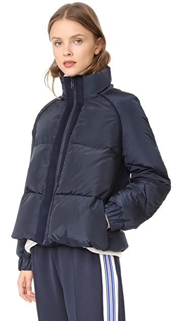 GANNI Fountain Puffer Jacket