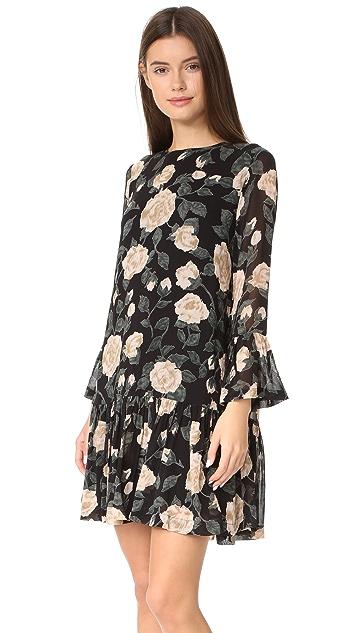 Ganni Carlton Georgette Dress