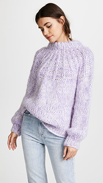 GANNI The Julliard Mohair Sweater