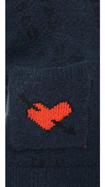 Ganni Waterly Jacquard Sweater