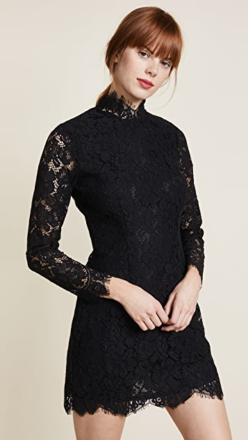 Ganni Jerome Lace Dress ...