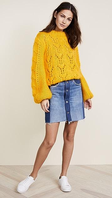 881d8e38dd0 GANNI The Julliard Mohair Sweater | SHOPBOP