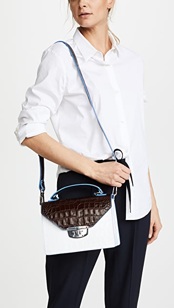 Ganni Top Handle Bag