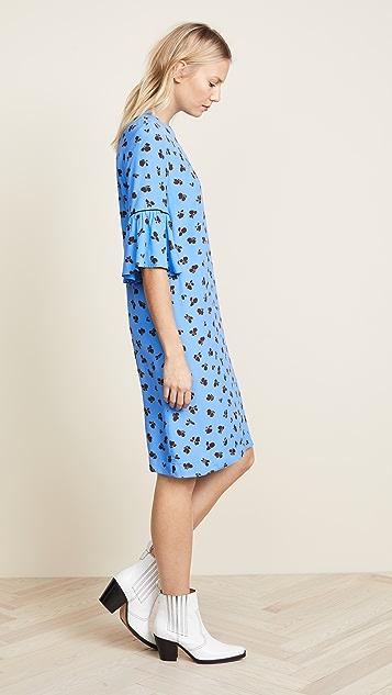 Ganni Printed Shift Dress