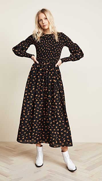 2c48fc9c GANNI Beacon Long Sleeve Dress | SHOPBOP