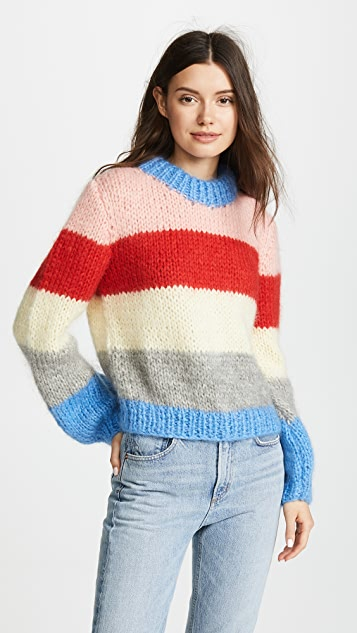 02cacd33 GANNI The Julliard Mohair Sweater | SHOPBOP