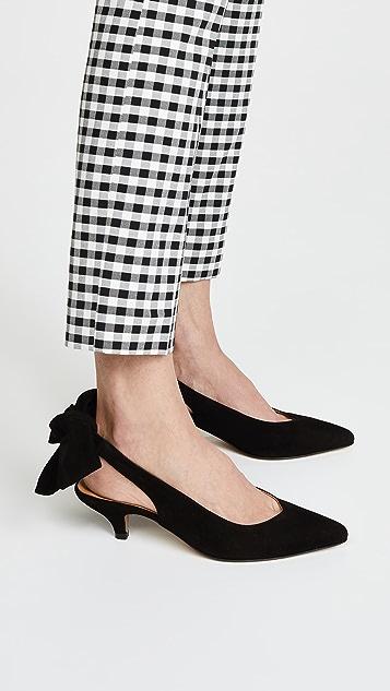 ff5f99d63cf GANNI Bow Kitten Heels ...